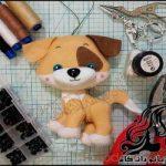 آموزش تصویری ساخت عروسک سگ