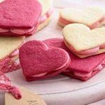 طرز تهیه دسر ساندویچی قلبی ویژه ولنتاین
