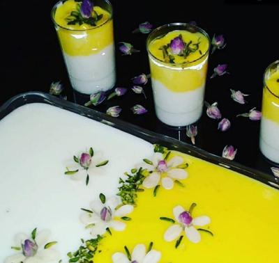 طرز تهیه دسر فرنی بستنی ویژه ماه رمضان