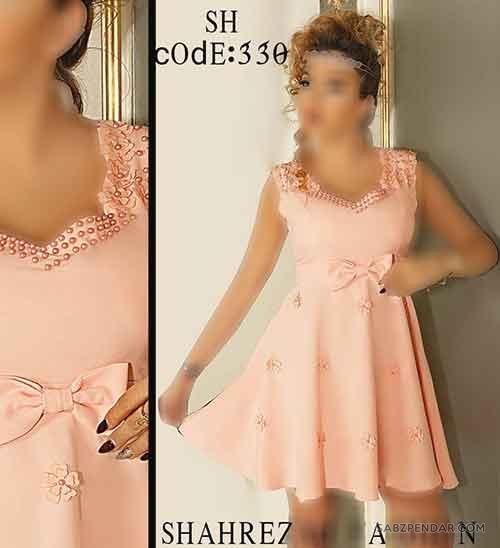 مدل لباس مجلسی کوتاه ۹۸ جدید و زیبا جدیدترین لباس مجلسی کوتاه دخترانه ۲۰۱۹