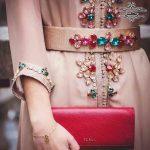 مدل لباس و مانتو سنگ دوزی  و جواهر دوزی شده جدید مجلسی