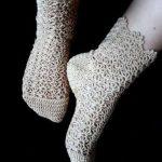 چگونه جوراب و روفرشی ببافیم؟ آموزش بافت جوراب قلاب بافی زنانه و دخترانه جدید و زیبا