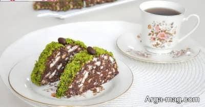 طرز تهیه کیک موزاییکی با طعم و پخت عالی در منزل دستور پخت کیک ترکیه ای