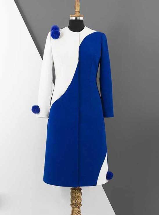 مانتو دو رنگ مانتو ترکیبی جدید ۲۰۱۹ و ۹۸ مدلهای جدید مانتو دخترانه