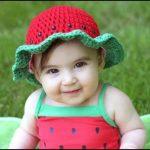 کلاه هندوانه مخصوص شب یلدا  آموزش بافت دو مدل کلاه مخصوص شب یلدا