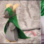 آموزش تصویری ساخت عروسک موش نماد سال ۹۹