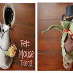 آموزش ساخت موش نمدی با مزه نماد سال موش