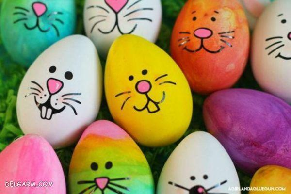 تزیین تخم مرغ هفت سین نوروز ۹۹ ایده های خلاقانه برای تزیین تخم مرغ های عید
