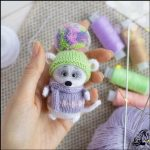 آموزش عروسک موش قلاب بافی آموزش تصویری بافت عروسک موش ریزه میزه