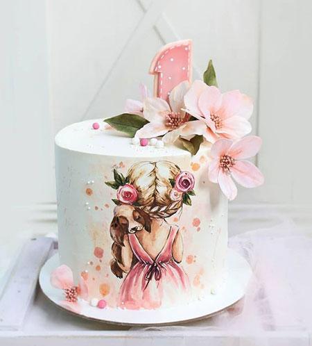 مدل کیک های روز دختر مدل های تزیین کیک روز دختر