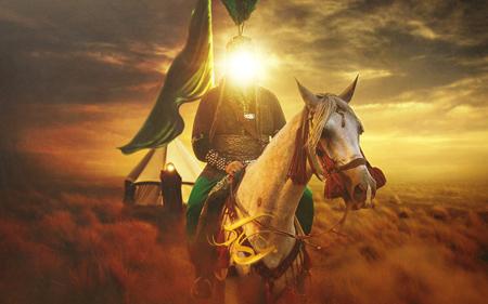 تصاویر روز تاسوعاکارت پستال شهادت حضرت ابوالفضل العباس